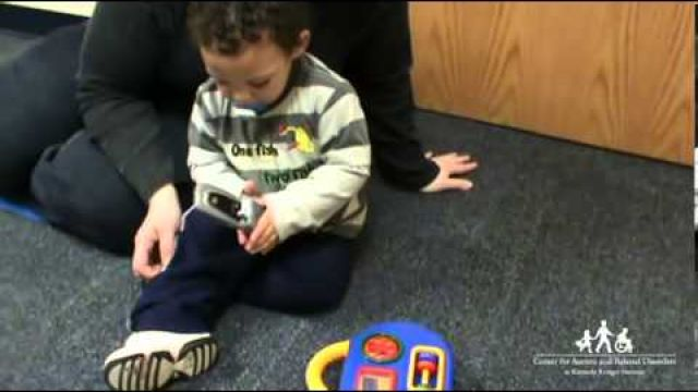 Early signs of autism tutorial video.
